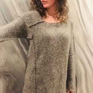 AJNA organic alpaca wool sweater from La Garçonne